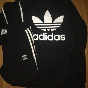 2 piece adidas outfit